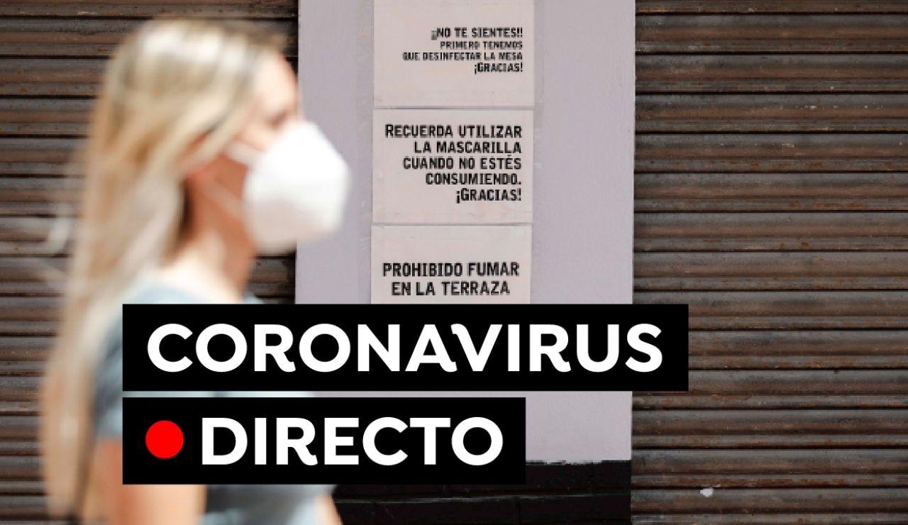 Coronavirus España hoy: Última hora sobre el uso de la mascarilla, vacunas y contagios, en directo