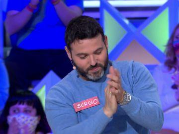 """Magistral tirada de Sergio en 'La ruleta de la suerte': """"¿Cómo iba a apuntar ahí?"""""""