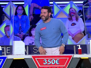 El gracioso despiste de un concursante desata las bromas de Jorge Fernández