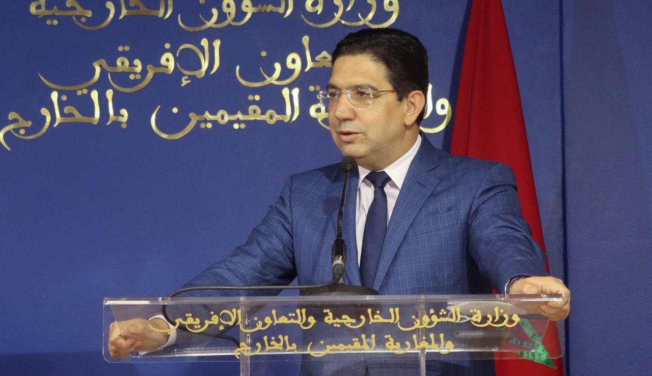El ministro marroquí de Exteriores, Naser Burita