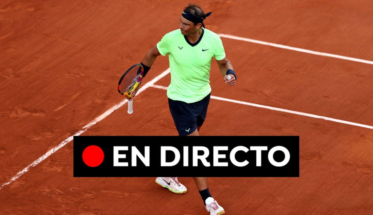Nadal - Schwartzman: Resultado del Roland Garros 2021 hoy, en directo