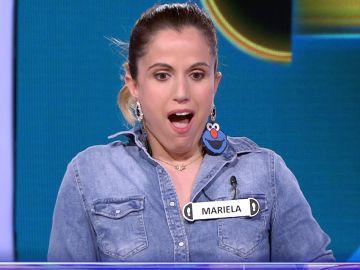Mariela gana 32.000 euros en el Duelo Final de '¡Ahora caigo!'
