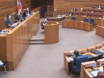 El Parlamento deCastilla y Leon aprueba una proposicion no de ley contra los indultos