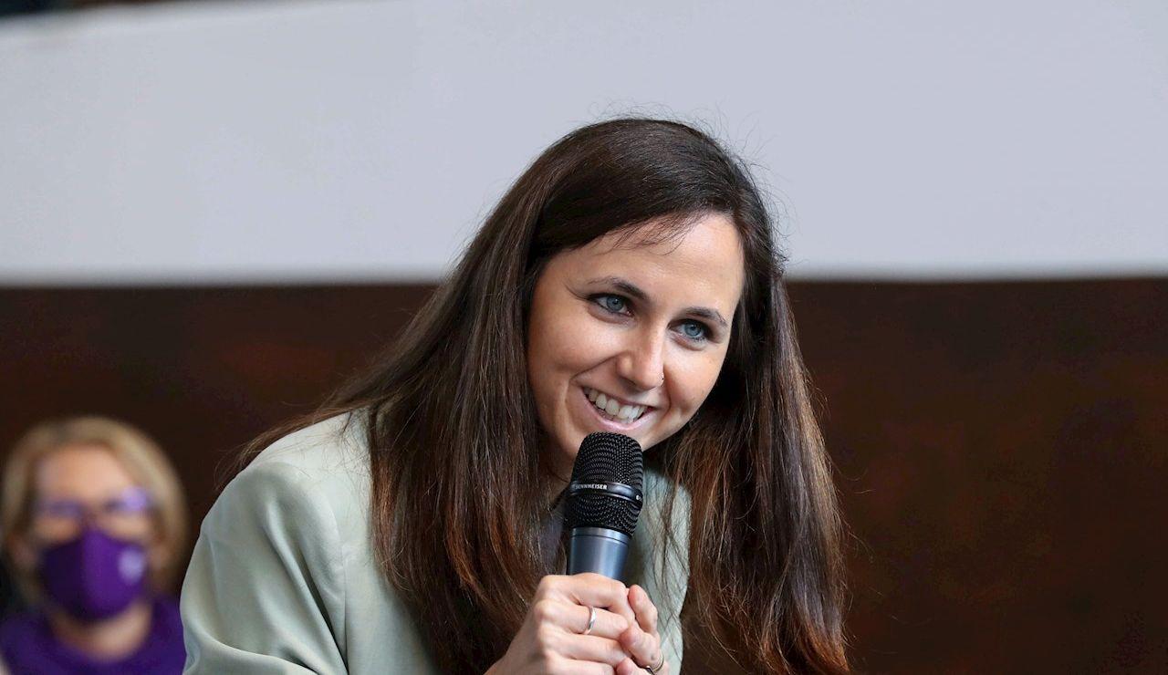 La ministra de Derechos Sociales y Agenda 2030 y candidata a la secretaría general de Podemos, Ione Belarra