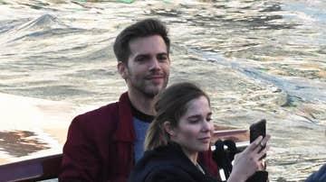 Marc Clotet y Natalia Sánchez en Venecia