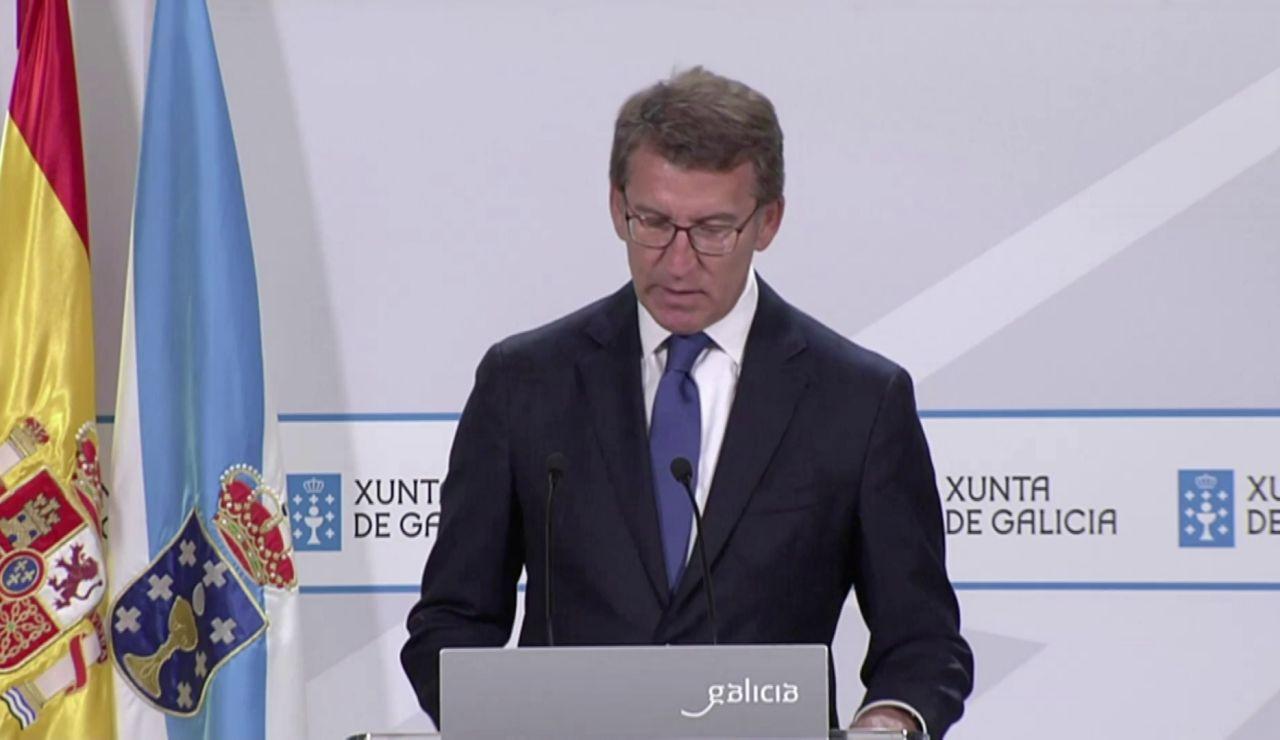 Así ha sido la comparecencia de Alberto Núñez Feijóo de hoy 9 de junio sobre las restricciones en Galicia, en vídeo