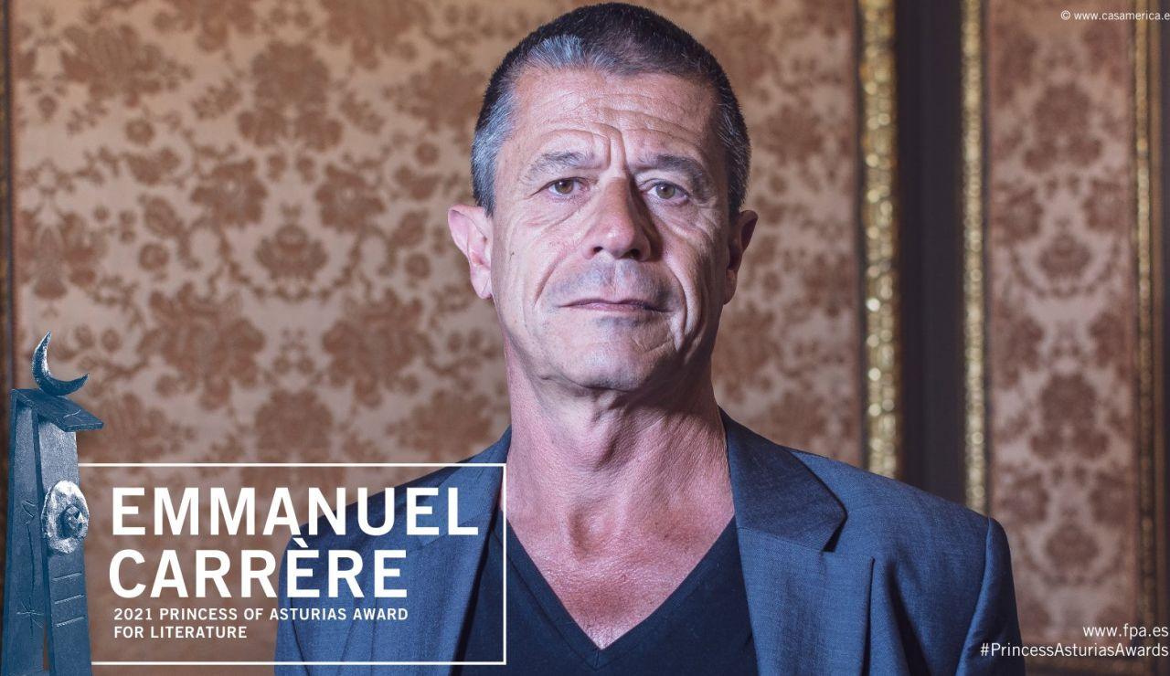 Emmanuel Carrrère gana el Premio Princesa de Asturias de las Letras 2021