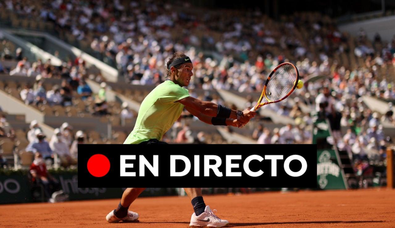 Rafa Nadal - Diego Schwartzman: Partido del Roland Garros 2021, en directo