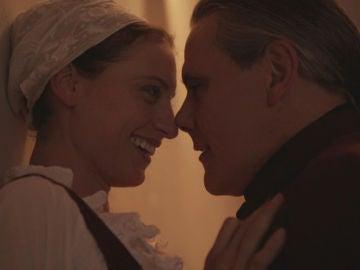 """El esperado beso de Diego y Clara: """"La fuerza de lo que de verdad importa"""""""