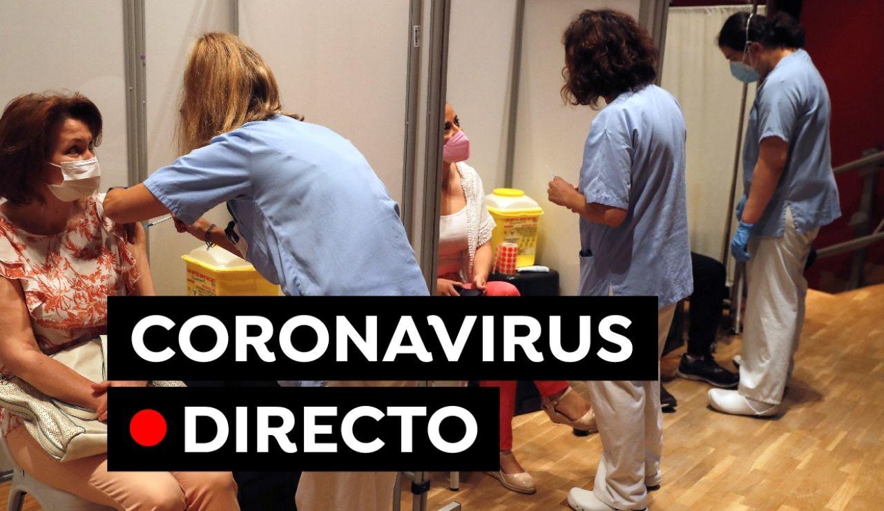 Coronavirus España hoy: Última hora sobre la mascarilla, horarios, nuevas restricciones y vacunas, en directo