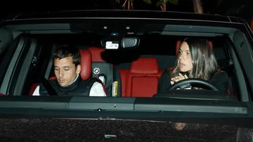 Laura Matamoros y Benji Aparicio en Madrid