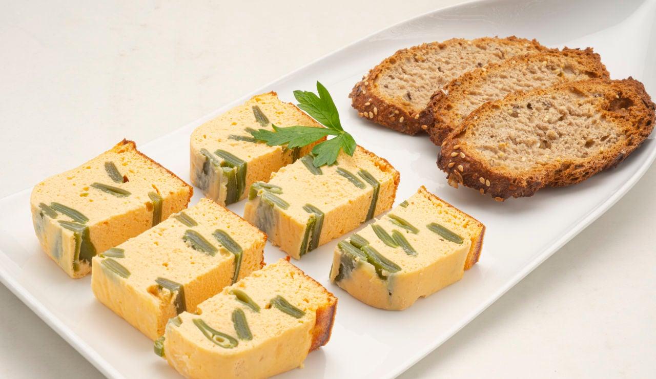 """Una receta """"completa y fácil de hacer"""": pastel de judías verdes y salmón, de Karlos Arguiñano"""