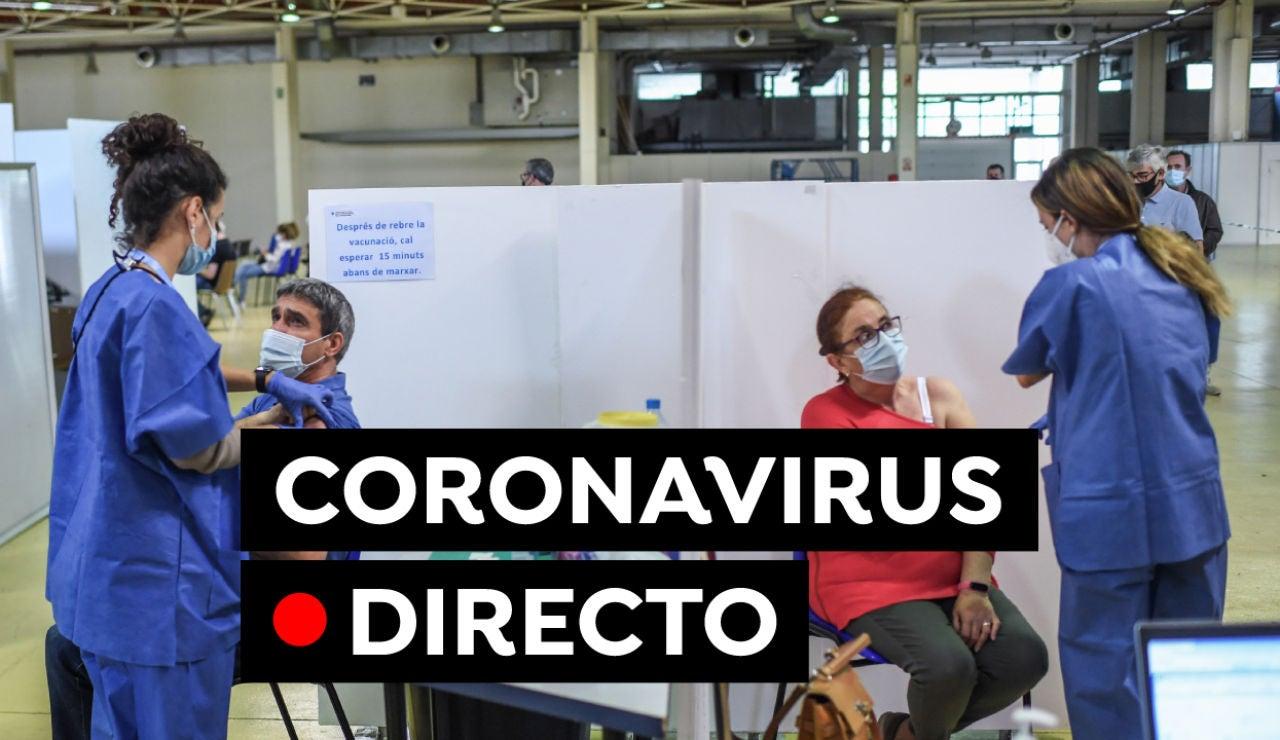 Coronavirus en España hoy: Uso de la mascarilla, cita para la vacuna y última hora, en directo