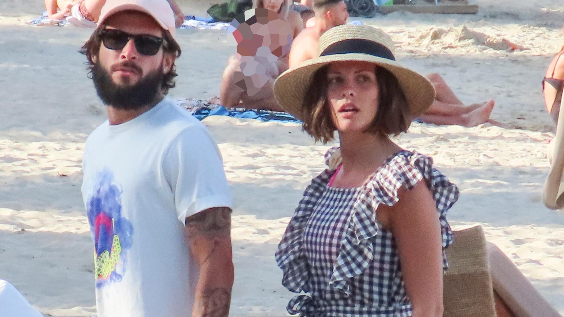 Jessica Bueno y su marido Jota Peleteiro