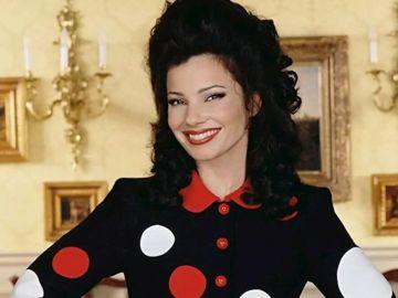 Fran Drescher en 'La niñera' ('The Nanny')