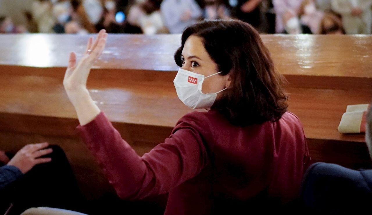 La presidenta de Madrid, Isabel Díaz Ayuso