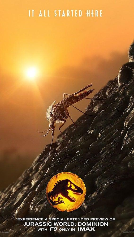 Teaser póster de 'Jurassic World: Dominion'