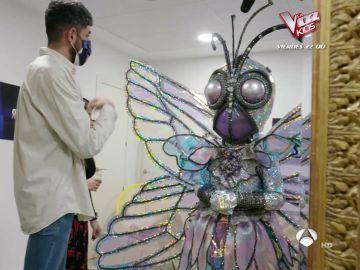 Las complicaciones de Esperanza Aguirre para lucir el traje de Mariposa en 'Mask Singer'