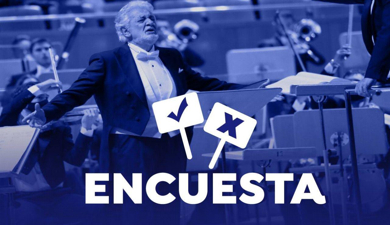 Encuesta: Qué opinión tienes de la ovación a Plácido Domingo