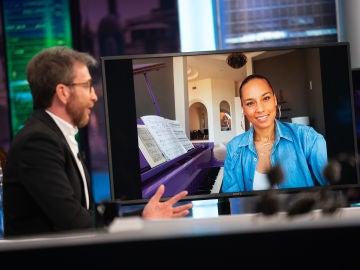Disfruta de la entrevista completa a Alicia Keys en 'El Hormiguero 3.0'