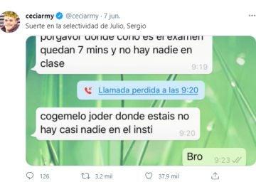 Tuit de @ceciarmy