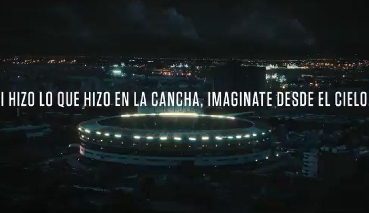 El emotivo anunció para la Copa América con homenaje a Maradona que arrasa en Argentina
