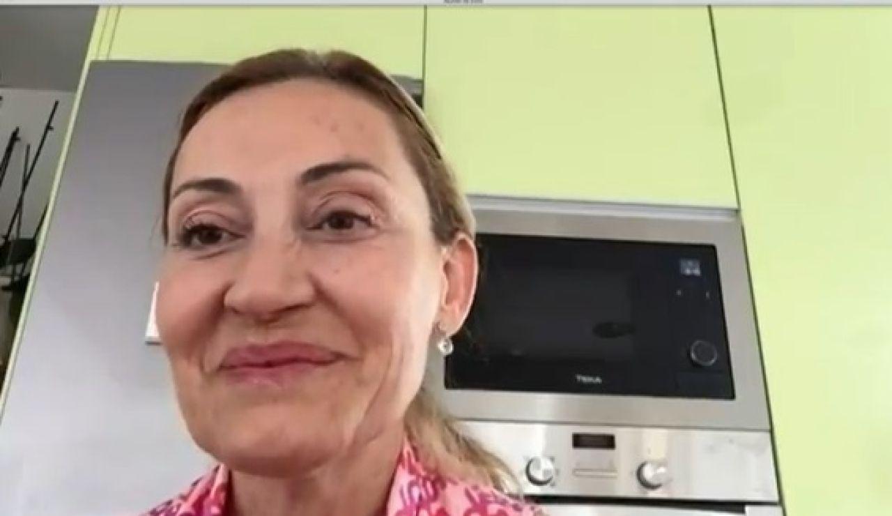 Miriam Roset, viuda de Sergi Mingote