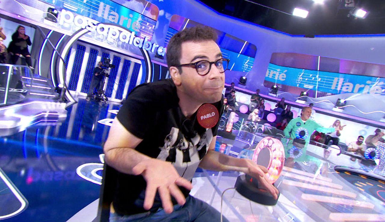 ¡Un momento televisivo magnífico! Pablo sufre con el salto generacional en 'La Pista'