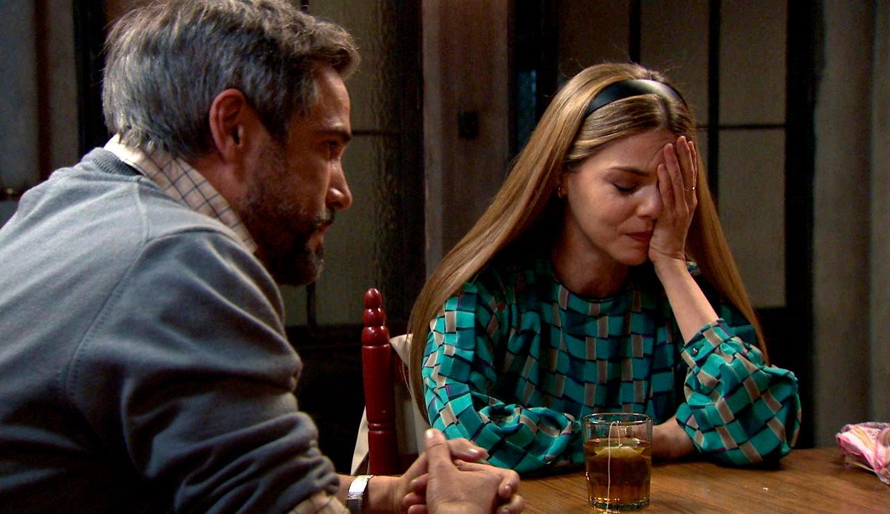 Maica y Gorka, destrozados tras el desencuentro con Simón