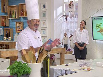 """Karlos Arguiñano desvela el secreto de sus recetas: """"Está todo pensado"""""""