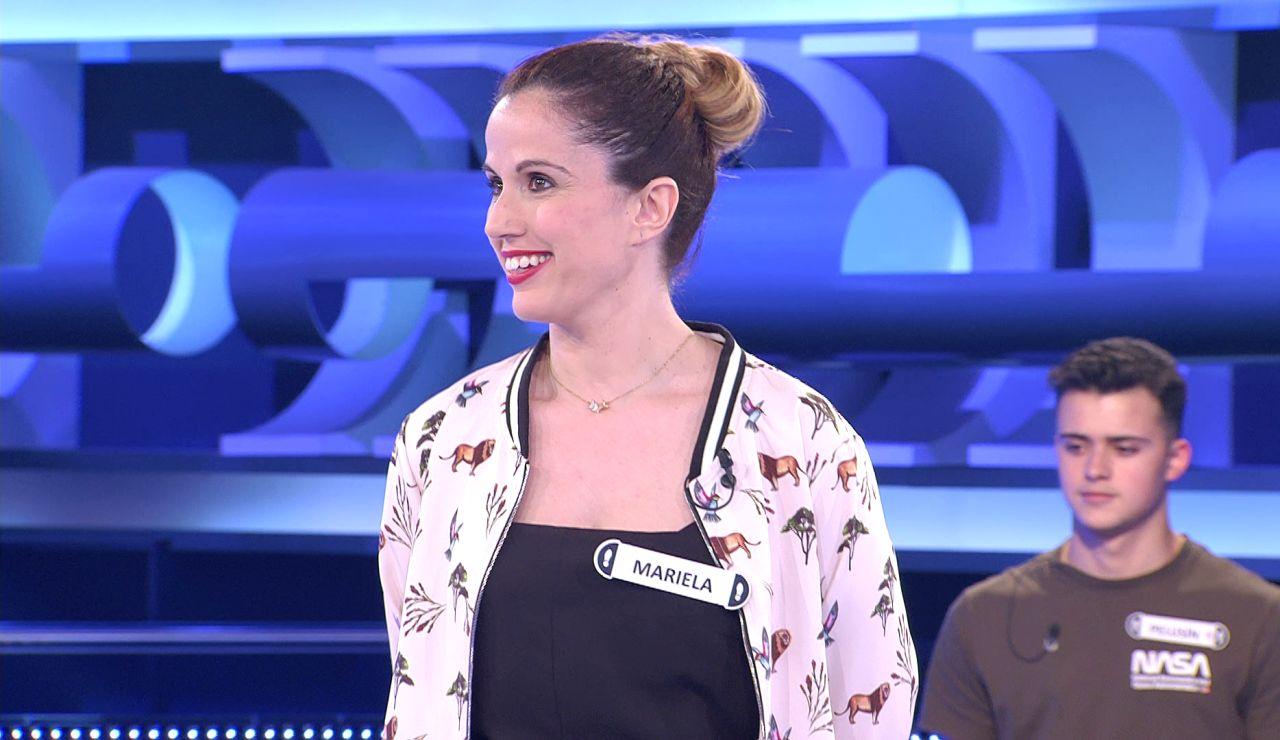 ¿Pretendía ser un piropo o lo contrario? La pulla de Mariela a Arturo Valls en '¡Ahora caigo!'