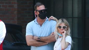 Sienna Miller con su nuevo novio, Archie Keswick