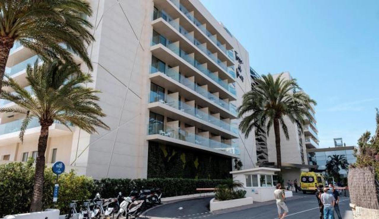 Hotel de Platja d'en Bossa, Ibiza.