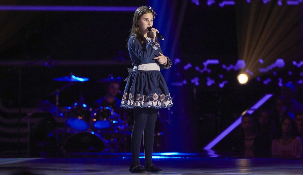 Cayetana Rollán canta 'A million dreams' en las Audiciones a ciegas de 'La Voz Kids'