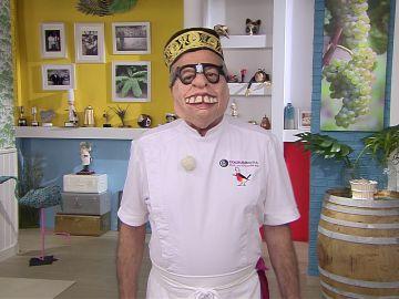 ¿Se presenta a 'Mask Singer'? Karlos Arguiñano ensaya para el exitoso programa de Antena 3