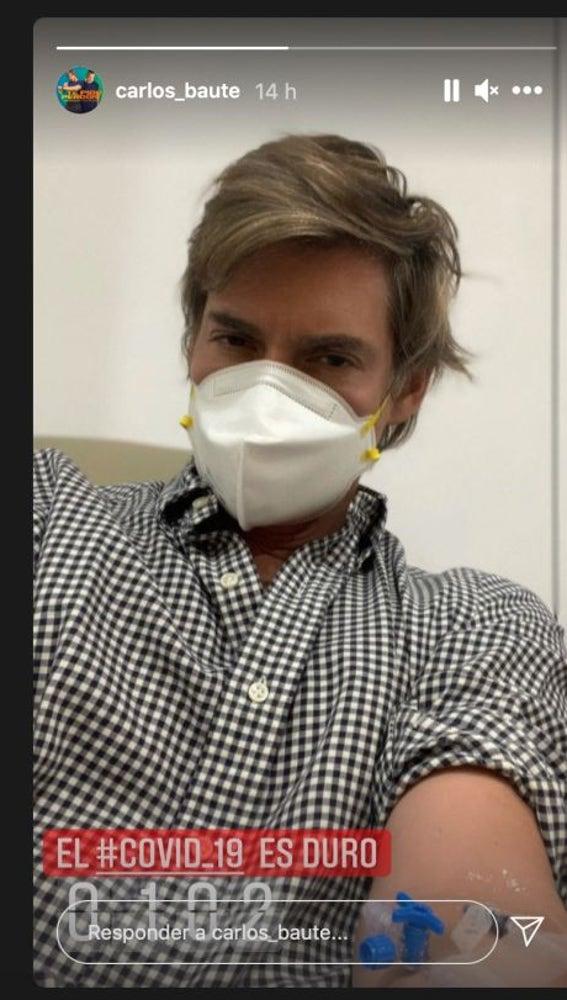 Carlos Baute luchando contra el coronavirus