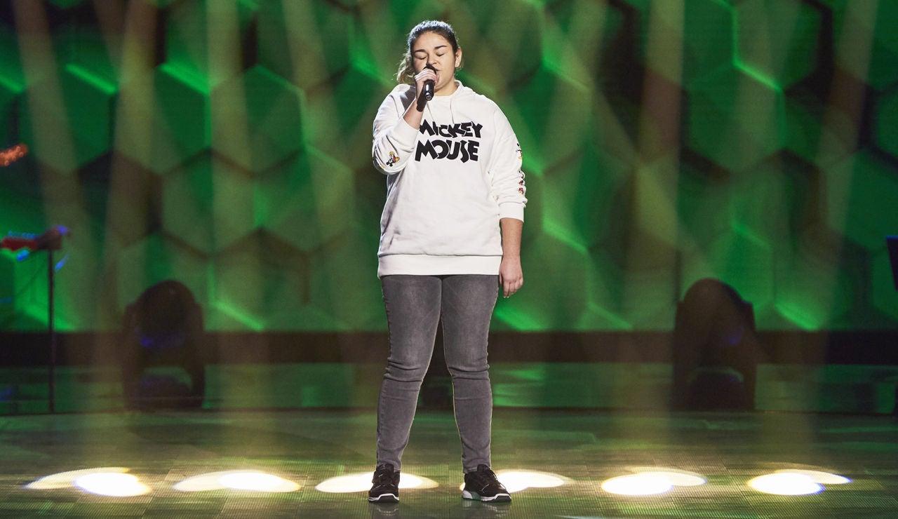 Alba Pascual canta 'Shallow' en las Audiciones a ciegas de 'La Voz Kids'