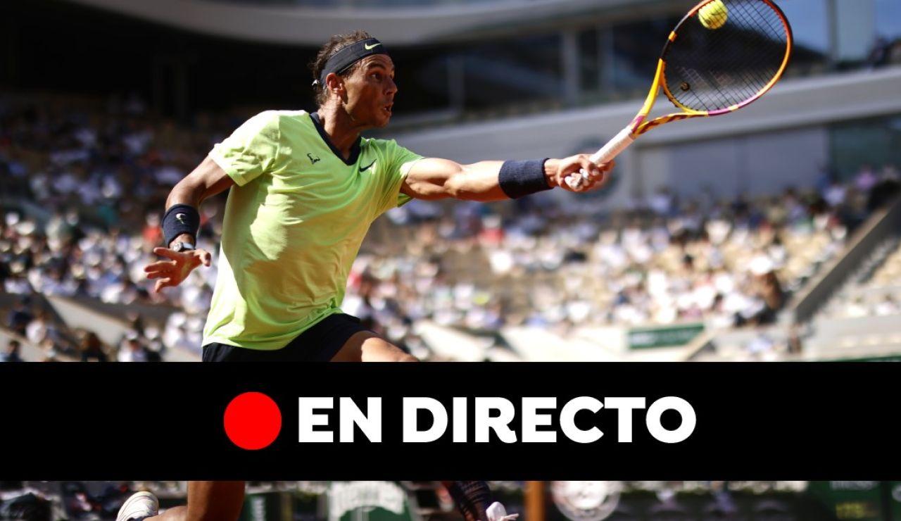 Rafa Nadal - Novak Djokovic: semifinales de Roland Garros, en directo