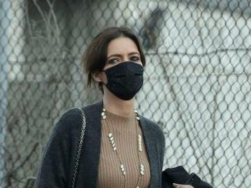 Sara Carbonero, fotografiada en Madrid