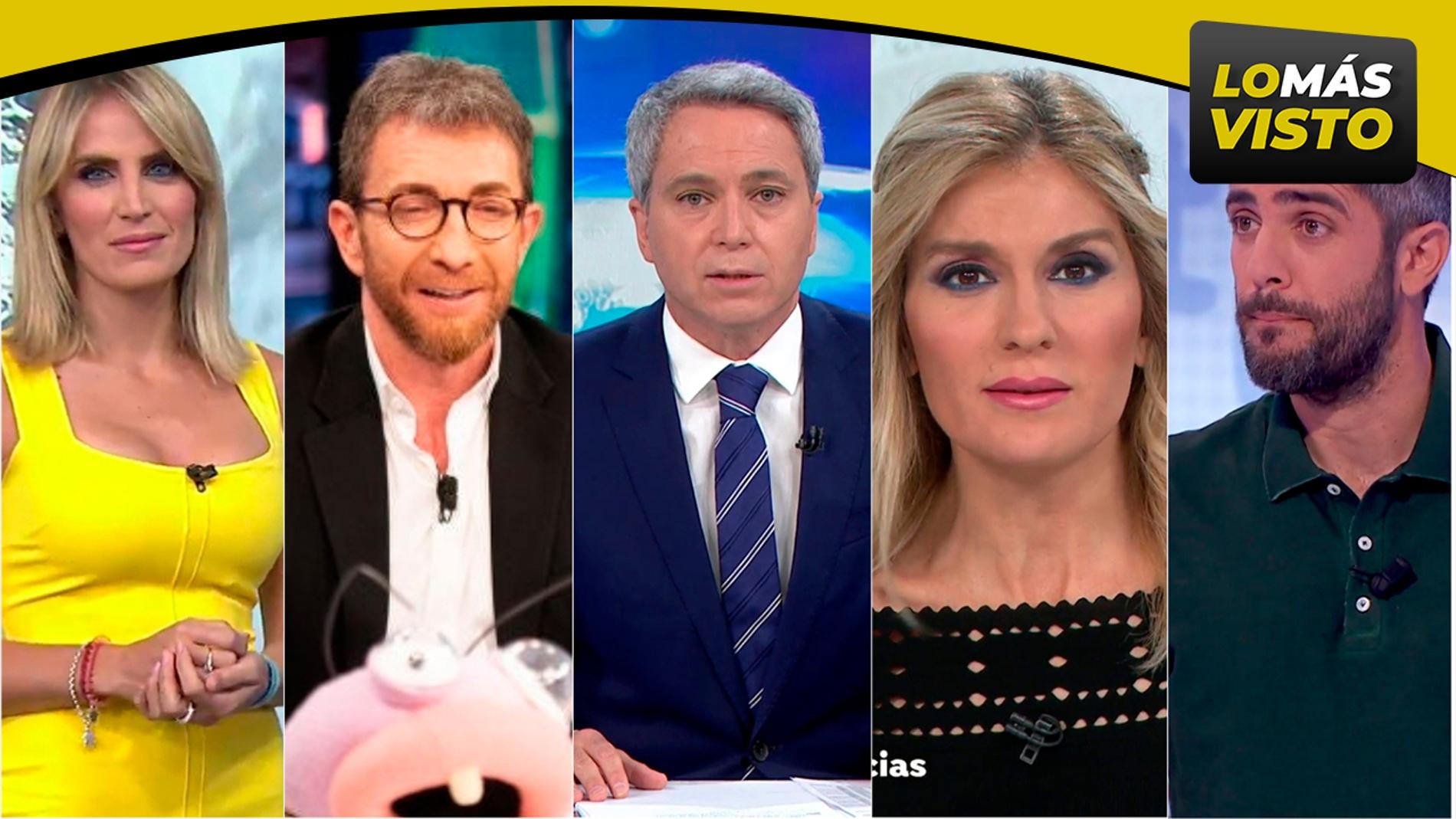 Antena 3 logra el Top 5 más visto y líder absoluto de la TV y mantiene su dominio en Prime Time