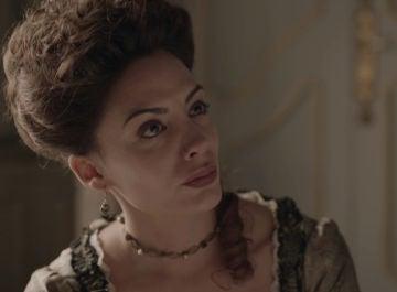 Gabriel pone contras las cuerdas a Amelia en el penúltimo capítulo de 'La cocinera de Castamar'