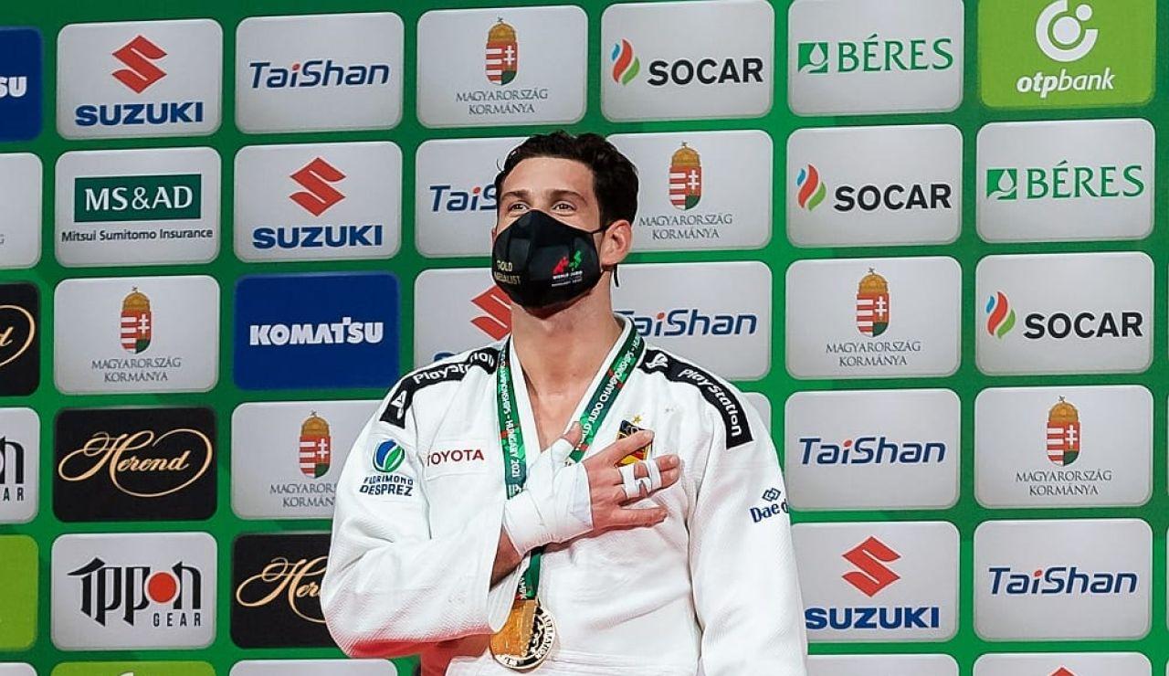Niko Shera, primer bicampeón mundial de la historia del judo español a las puertas de Tokio 2020