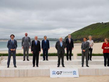 Los participantes del G7
