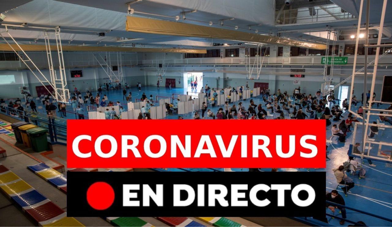 Restricciones, vacuna contra el COVID y datos del coronavirus en España hoy, en directo