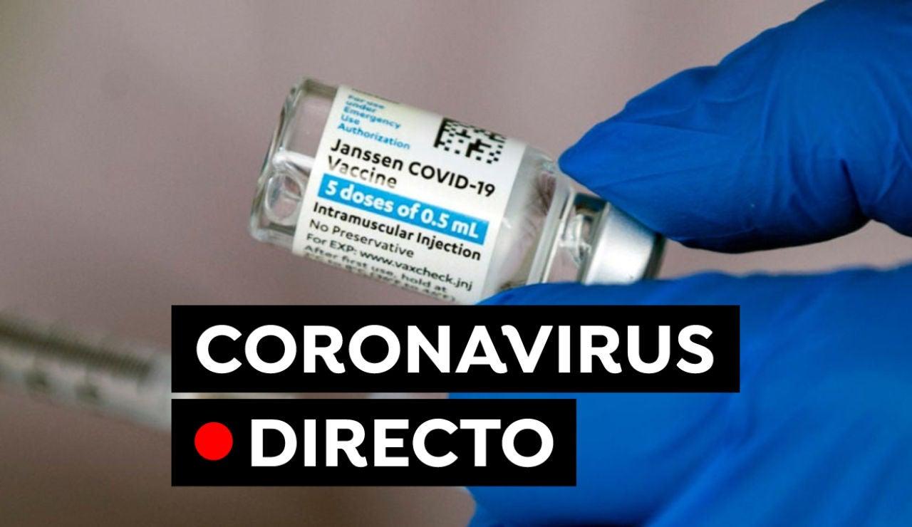 Plan de vacunación, nuevas restricciones y última hora del coronavirus en España hoy, en directo