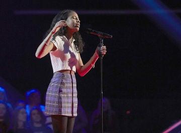 Lisbel Francisco canta 'Almost is never enough' en las Audiciones a ciegas de 'La Voz Kids'