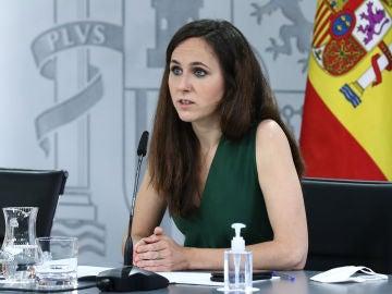Ione Belarra, ministra de Asuntos Sociales y nueva secretaria general de Podemos.