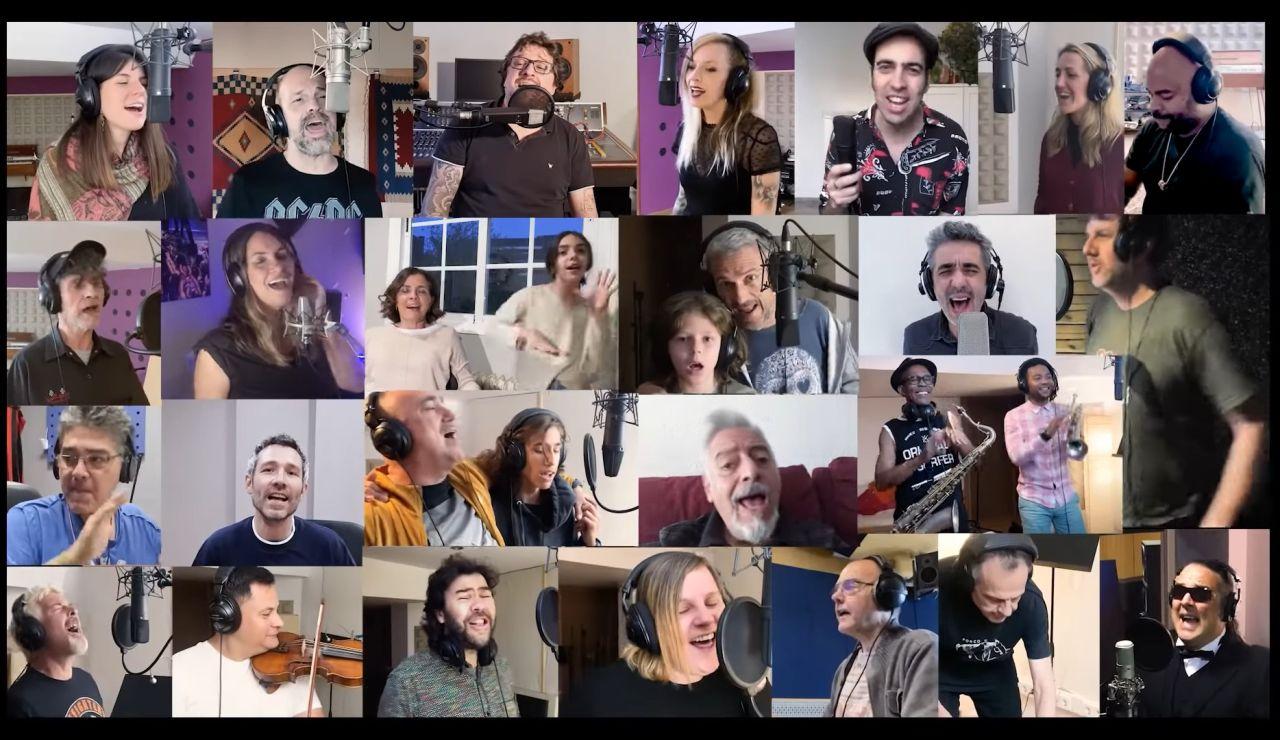 Así es la nueva versión de 'Valiente', la emotiva versión de la 'familia jarabesca' en homenaje a Pau Donés