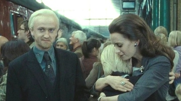 Tom Felton en el epílogo de 'Harry Potter'