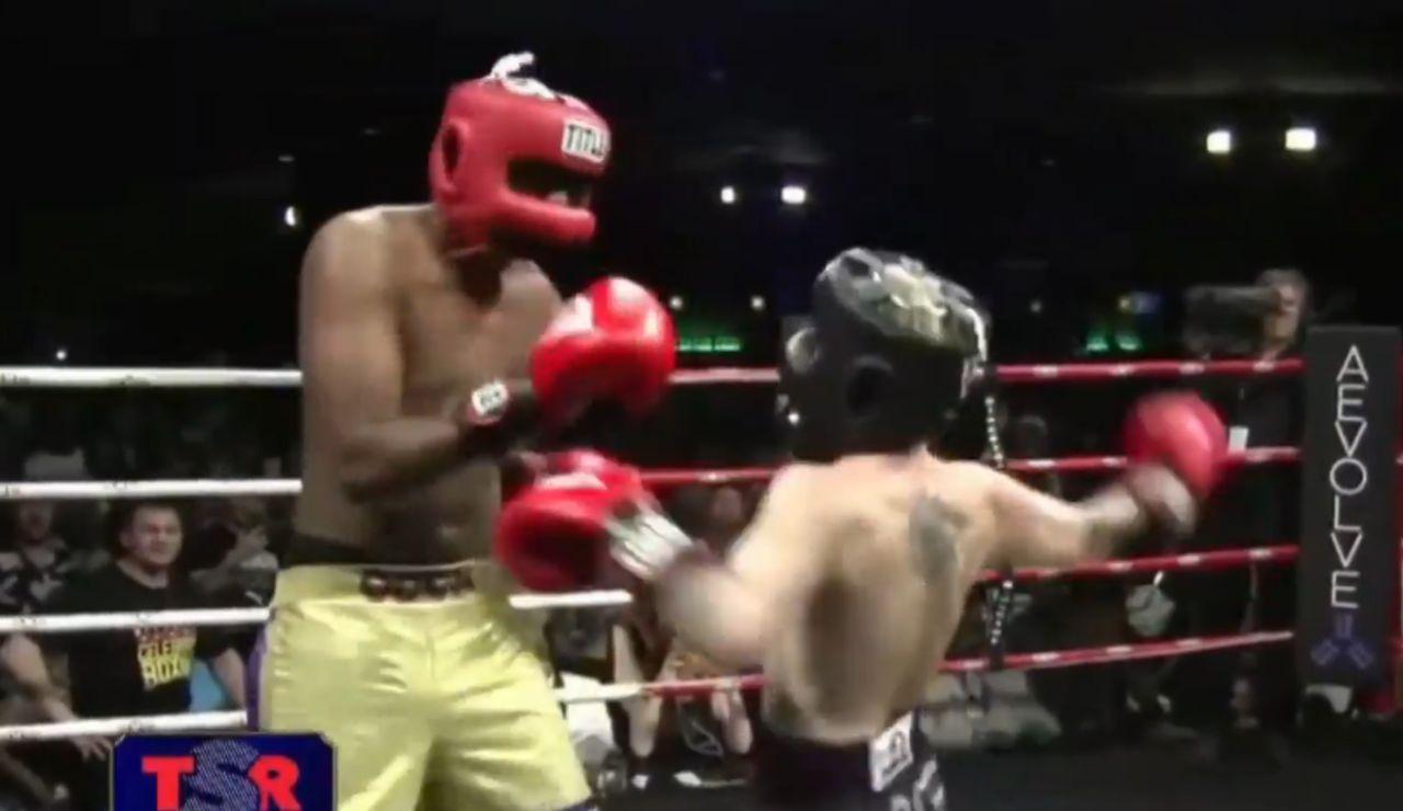 Lamar Odom boxeando